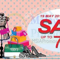 Read more about Vern's Up To 70% OFF SALE 19 May - 15 Jun 2014