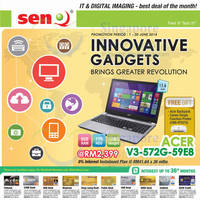 Read more about SenQ Digital Station IT & Digital Imaging Offers 1 Jun 2014