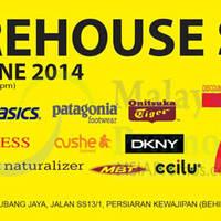 Read more about Branded Warehouse SALE @ Subang Jaya 24 - 29 Jun 2014