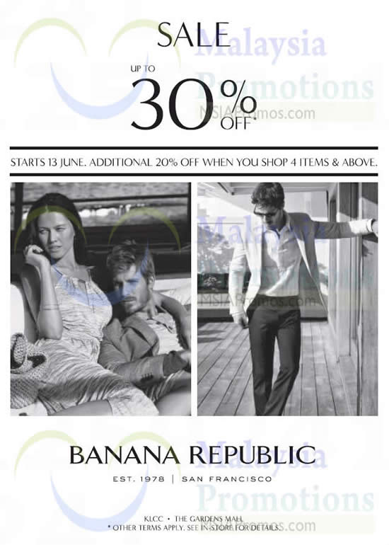 Banana Republic 12 Jun 2014