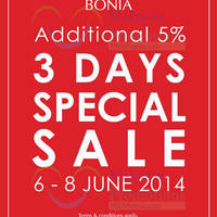 Read more about Bonia Special SALE @ Johor Premium Outlets 6 - 8 Jun 2014