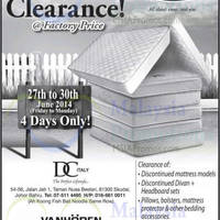 Read more about Dreamland Warehouse Clearance 27 - 30 Jun 2014