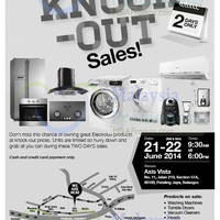 Read more about Electrolux Mid Year Warehouse Sale @ Petaling Jaya 21 - 22 Jun 2014