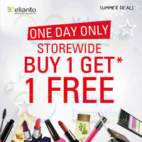 Read more about Elianto Buy 1 Get 1 FREE Promo @ Nationwide 22 Jun 2014