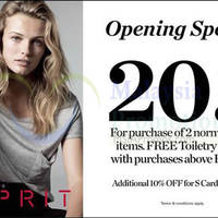 Read more about Esprit Opening Special @ KL Sogo 30 May 2014