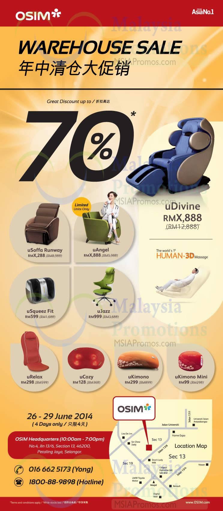 Osim massage chair price - Osim Udivine Massage Chair