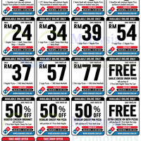 Read more about Domino's Pizza Online / Takeaway Discount Coupons 25 Jul - 31 Oct 2014