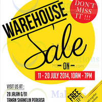 Read more about Aivoria Bonita, Elianto & Tiamo Warehouse Sale SALE @ Cheras 11 - 20 Jul 2014
