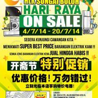 Read more about HLK Hari Raya Electronics Sale @ Sungai Buloh 4 - 20 Jul 2014