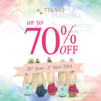 Read more about Tiamo SALE 28 Jun - 1 Sep 2014