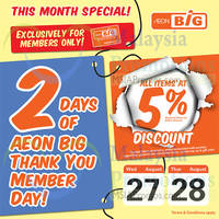 Read more about Aeon BIG 5% Off Storewide Member Promo 27 Aug 2014