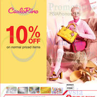 Read more about Carlo Rino 10% OFF For Public Bank Cardmembers 21 Aug 2014 - 30 Jun 2015