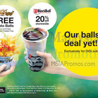 Read more about Crazy Potato & Blackball Promotion For Digi Subscribers 15 Aug - 30 Sep 2014