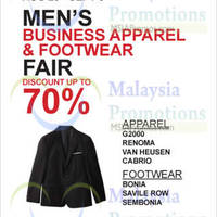 Read more about Isetan Men's Business Apparel Footwear 29 Aug - 3 Sep 2014