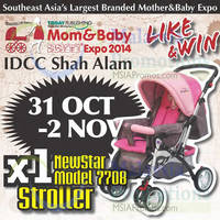 Read more about Mom & Baby Expo @ IDCC Shah Alam 31 Oct - 2 Nov 2014