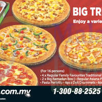 Read more about Pizza Hut NEW Rumah Terbuka (For 16 persons) 9 Aug 2014