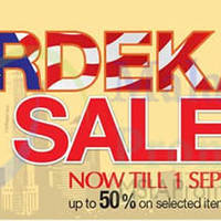 Read more about Reject Shop Merdeka Sale 20 Aug - 1 Sep 2014