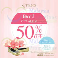 Read more about Tiamo Up To 30% OFF Promo 12 Aug 2014