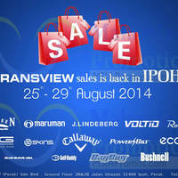 Read more about Transview Golf Sale @ Ipoh 25 - 29 Aug 2014