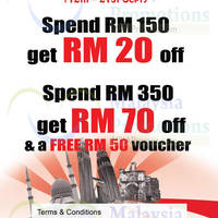 Read more about Elements Spend RM150 & Get RM20 OFF 12 - 21 Sep 2014