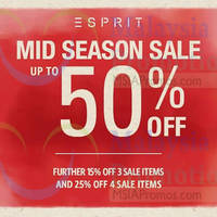 Read more about Esprit Mid Season Sale 29 Sep - 12 Oct 2014
