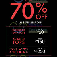 Read more about Guess Clearance SALE @ Johor Premium Outlets 12 - 21 Sep 2014