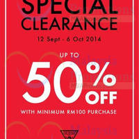 Read more about Guess Special Clearance @ The Curve 12 Sep - 6 Oct 2014
