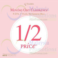 Read more about Tiamo Moving Out SALE @ Gardens Mall 19 - 26 Sep 2014