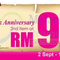 Read more about Vern's RM9 Second Item Promo 2 Sep - 14 Nov 2014