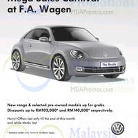 Read more about Volkswagen Mega Sales Carnival @ F.A. Wagen 24 - 30 Sep 2014
