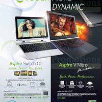 Read more about Acer Aspire Switch 10 & Aspire v Nitro Black Edition 17 Oct 2014