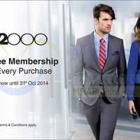 Read more about G2000 FREE Membership With Any Purchase 1 - 31 Oct 2014