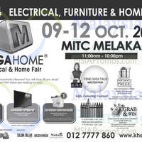 Read more about Mega Home Electrical & Home Fair @ MITC Melaka 9 - 12 Oct 2014