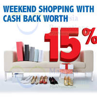 Read more about RHB 15% Cashback Weekend Promo 25 Oct - 28 Dec 2014