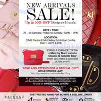 Read more about Reebonz Branded Handbags Sale @ Mid Valley 24 - 26 Oct 2014