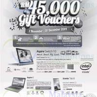 Read more about Acer Notebooks & Tablets Promotion 15 Nov 2014