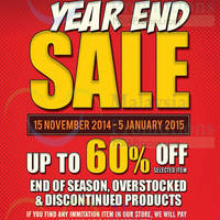Read more about Al-Ikhsan Year End Sale 15 Nov 2014 - 5 Jan 2015