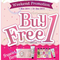 Read more about Etude House Buy 1 Get 1 FREE Promo (Fri - Sun) 1 Nov - 31 Dec 2014