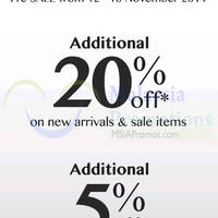 Read more about G2000 Year End Sale 12 - 16 Nov 2014