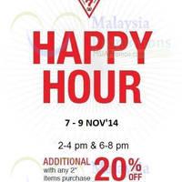 Read more about Guess Happy Hour SALE @ Johor Premium Outlets 7 - 9 Nov 2014