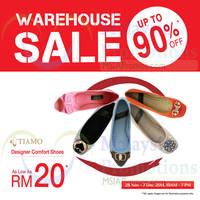 Read more about Tiamo Warehouse Sale @ Cheras 28 Nov - 7 Dec 2014