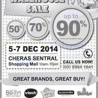 Read more about Childhood Basic Warehouse Sale @ Cheras Sentral 5 - 7 Dec 2014