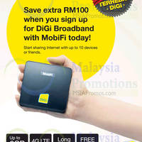 Read more about DiGi RM100 Off Broadband With MobiFi 3 Dec 2014