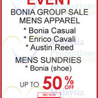 Read more about Bonia Group Sale @ Isetan Gardens 12 - 14 Dec 2014