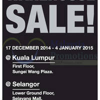 Read more about Parkson Extreme Warehouse Sale @ Sungei Wang Plaza & Selayang Mall 17 Dec 2014 - 4 Jan 2015