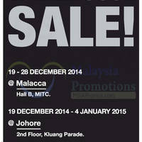 Read more about Parkson Extreme Warehouse Sale @ MITC Malacca 19 - 28 Dec 2014