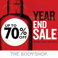 Read more about The Body Shop Year End Sale 26 Dec 2014 - 4 Jan 2015