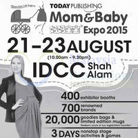 Read more about Mom & Baby Expo 2015 @ IDCC Shah Alam 21 - 23 Aug 2015