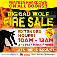 Read more about Big Bad Wolf Books SALE @ MIECC Mines 2 - 9 Feb 2015