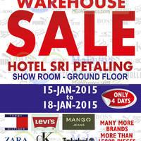 Read more about Big Brand Fashion Branded Apparel Warehouse Sale @ Hotel Sri Petaling 15 - 18 Jan 2015